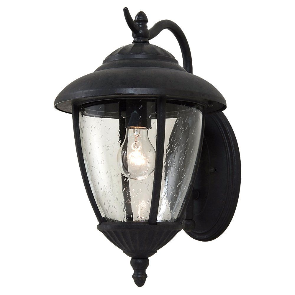 1 Light Oxford Bronze Incandescent Outdoor Wall Lantern 84070-746 in Canada