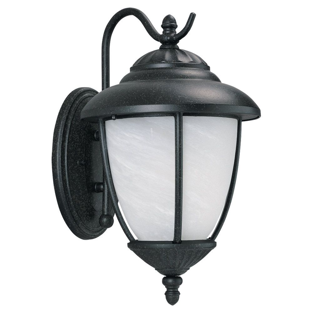 1 Light Forged Iron Incandescent Outdoor Wall Lantern
