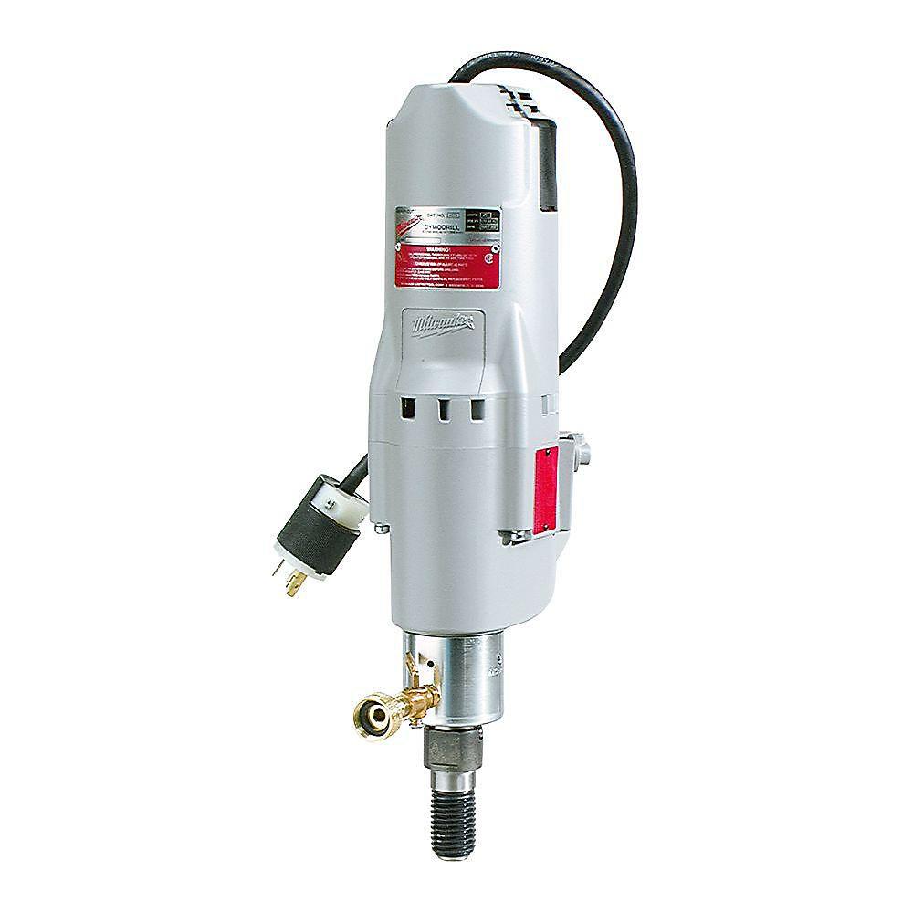 20 Amp 300-600 RPM Diamond Coring Drill with Shear Pin