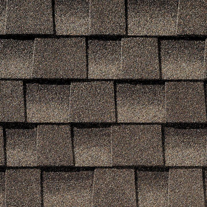 Timberline Lifetime High Definition  Mission Brown Shingles