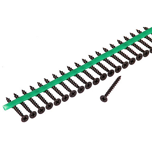 Auto Feed #6 x 1-5/8 in. Bugle-Head Phillips drive Drywall Screws (2,100-Pack)