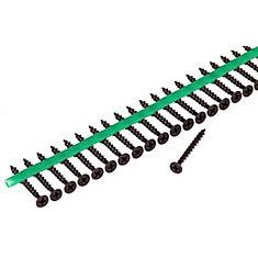 Vis de sous-plancher à carré d'entraînement phillips à tête évasée pour alimentation automatique n° 6x1-5/8po (2100/emballage)
