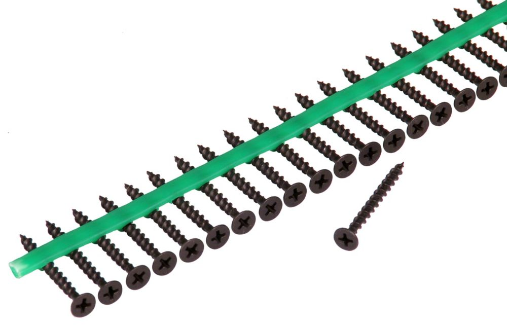 Auto Feed #6 x 1-5/8 in. Bugle-Head Phillips drive Drywall Screws (2,100/Pack)