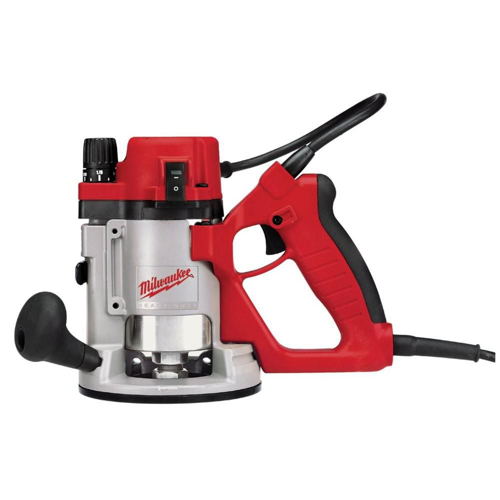 Milwaukee Tool 1 3/4 Max hp D-Handle Router