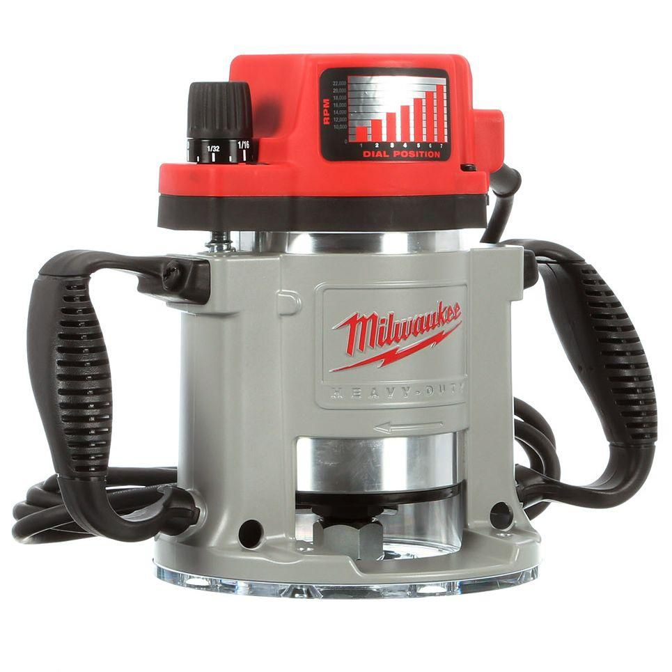 3-1/2 Max HP Fixed-Base Production Router with Electronic Variable
