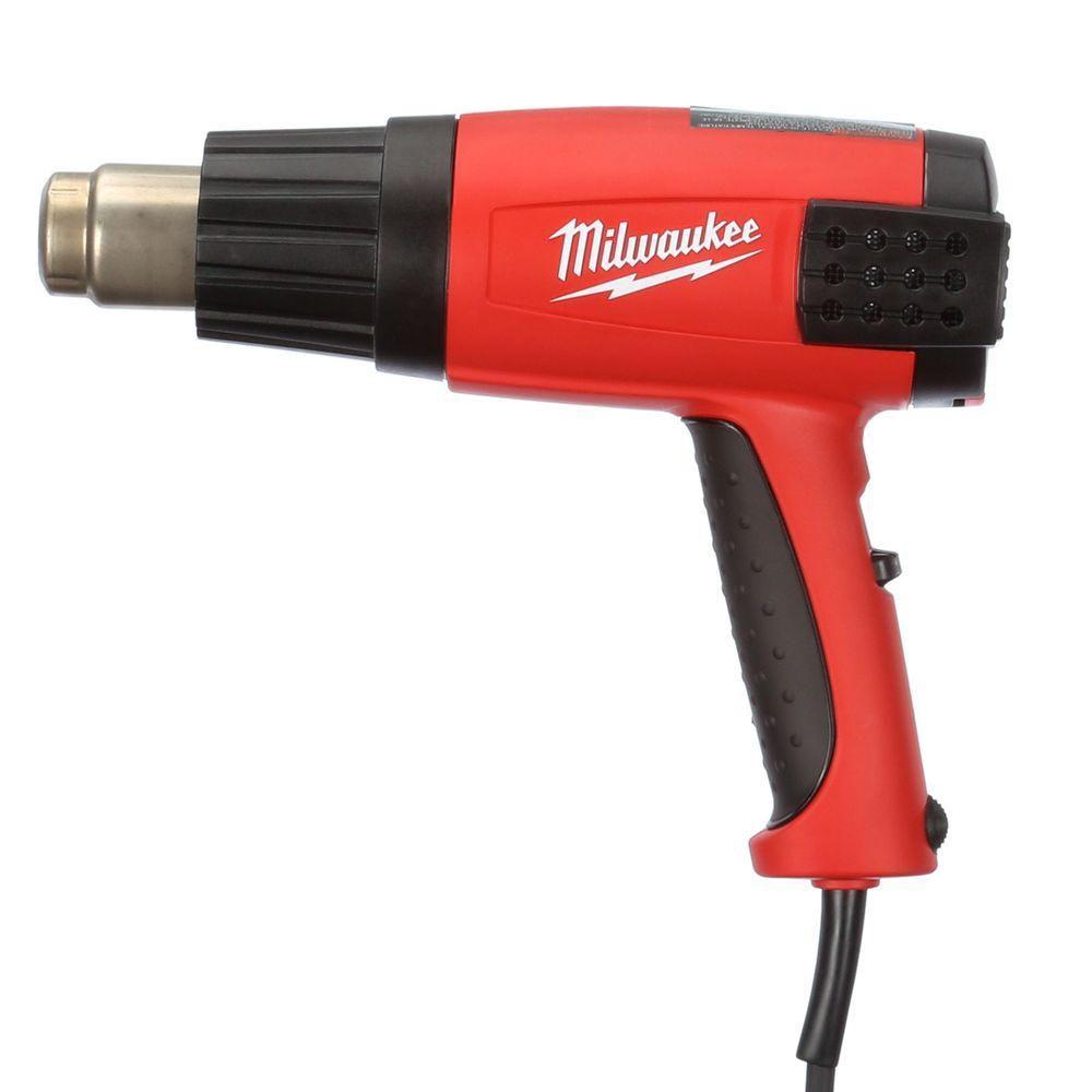 Pistolet à air chaud à température variable avec DEL numérique