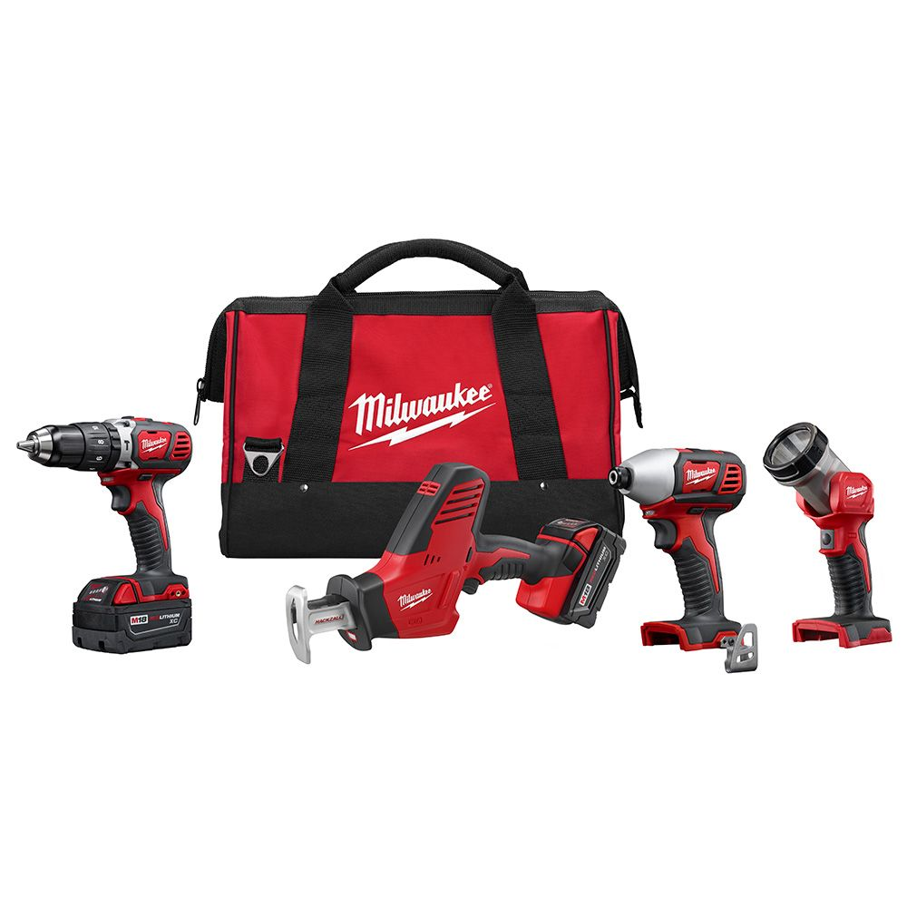 M18 Cordless Lithium-ion Four-Piece Combo Kit