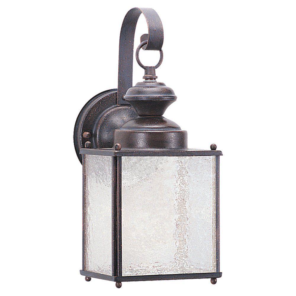 Lumière Seagull fixée au mur à une ampoule avec abat-jour givré, finition de spécialité