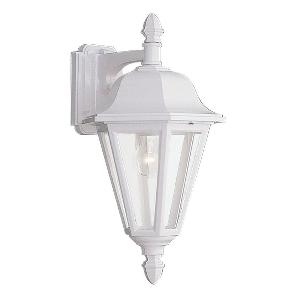 1 Light White Incandescent Outdoor Wall Lantern 8825-15 in Canada