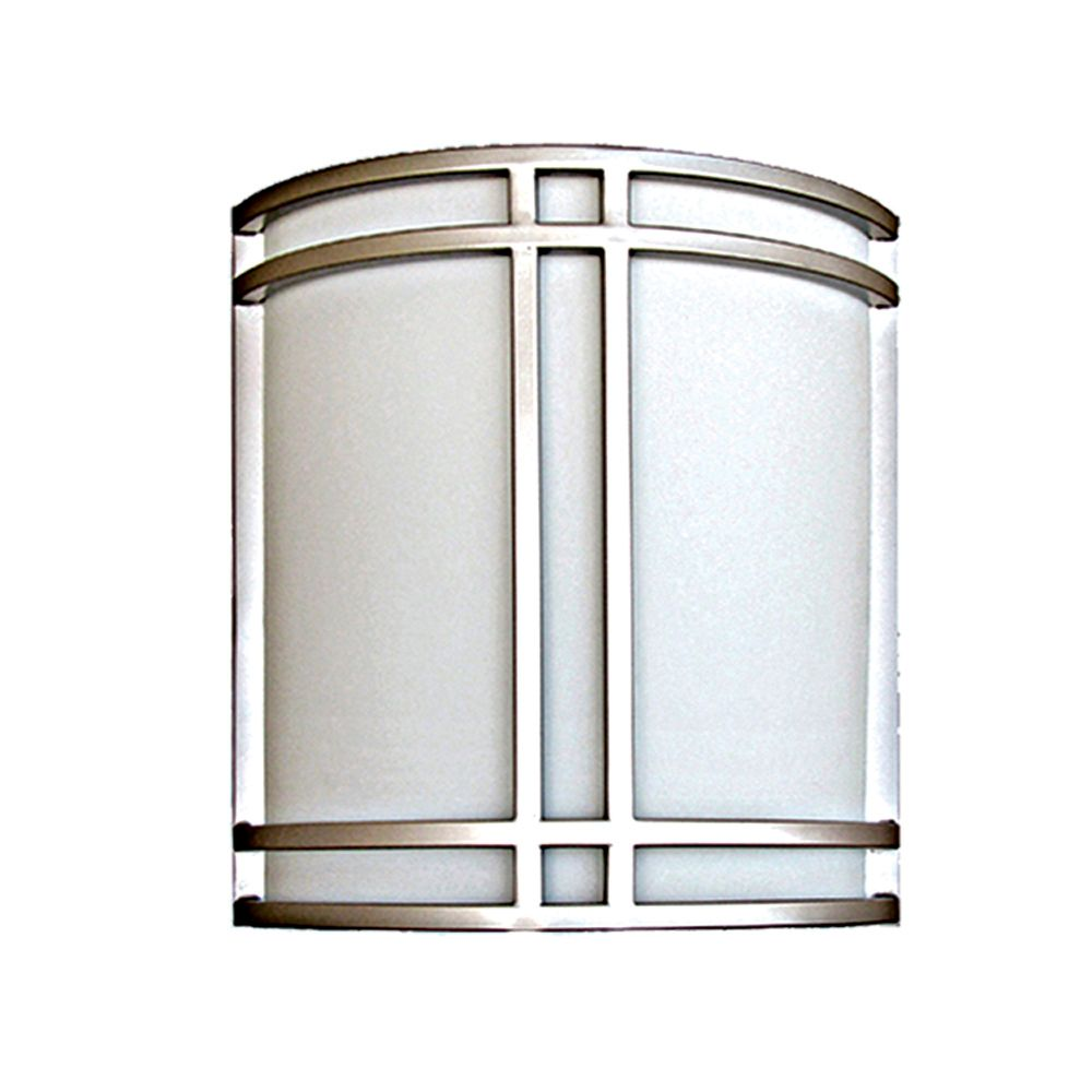 2 Light Wall Sconce with Satin Opal Glass and a Pewter Finish CLI-QU5709-0-PW in Canada
