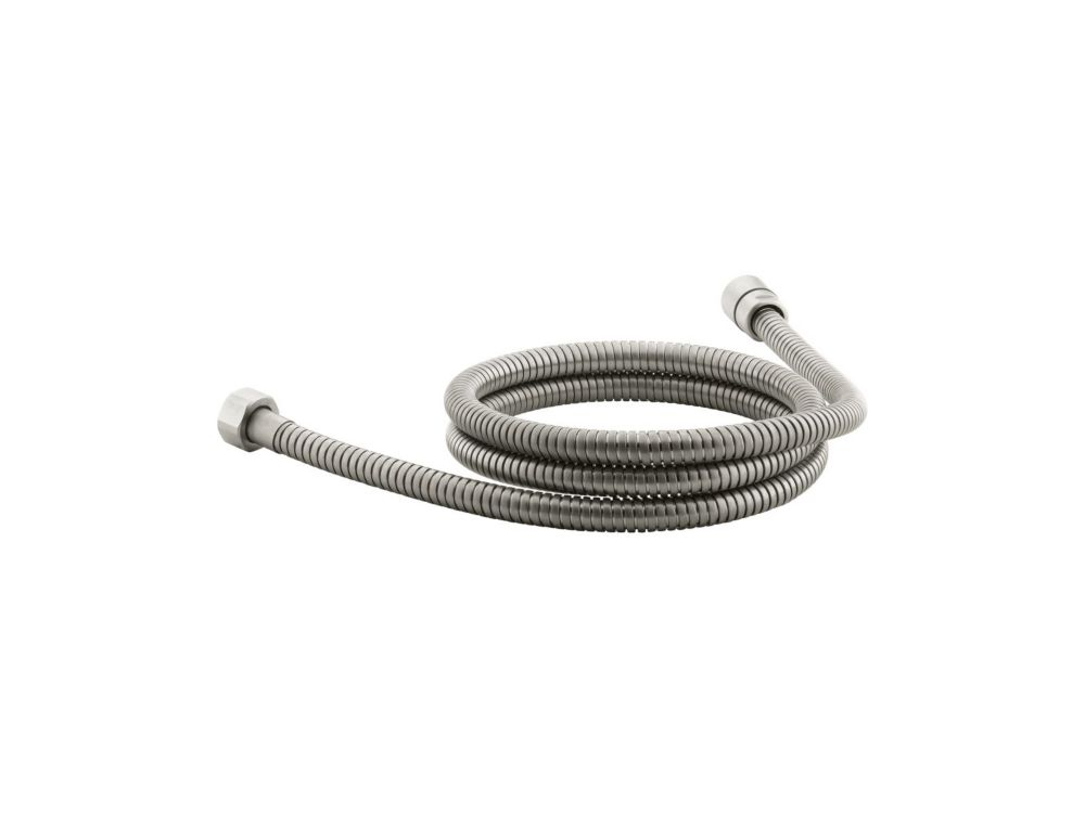 Mastershower 72 Inch Metal Shower Hose in Vibrant Brushed Nickel