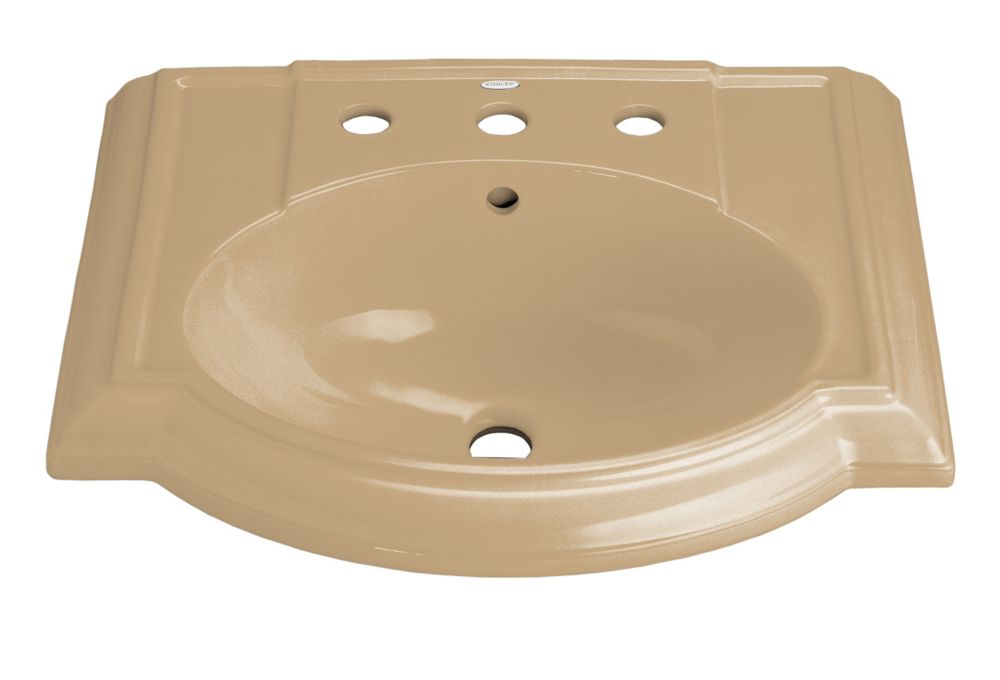 KOHLER Devonshire Bathroom Sink Basin in Mexican Sand
