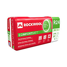 Comfortbatt R24 16 inch O.C. For 2x6 Wood Studs