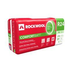 Rockwool Comfortbatt R24 16 inch O.C. For 2x6 Wood Studs