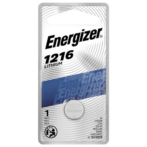 Energizer Energizer 1216 Lithium Coin Battery, 1 Pack