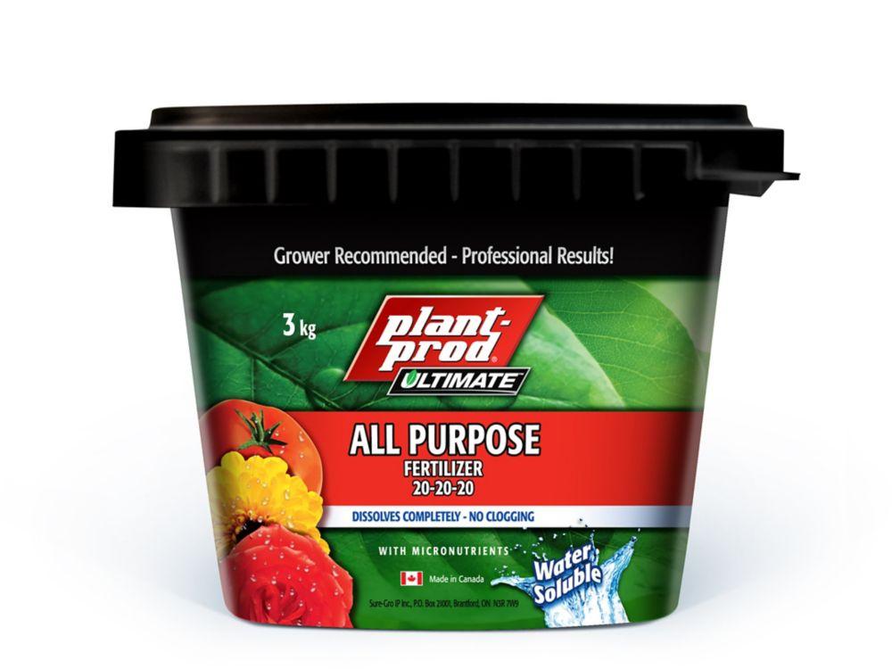 Engrais tout usage 20-20-20 Plant-Prod<sup>®</sup>