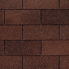 Marquis WeatherMax 3 ft. 3-Tab Brown Fibreglass Shingle (26-Pack)