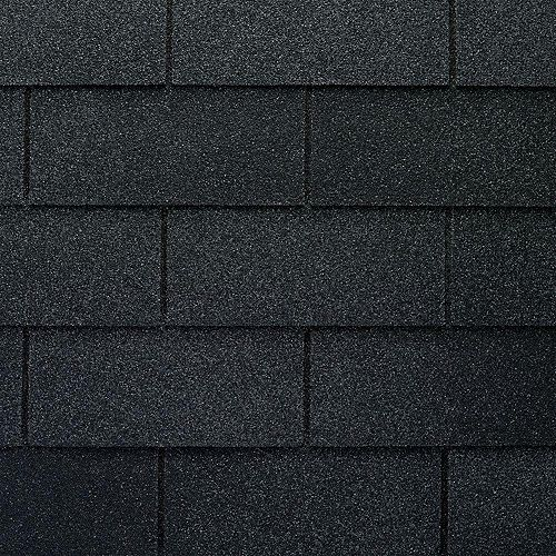 GAF Marquis WeatherMax® Charcoal Laminated 3-Tab Roof Shingles (33.3 sq. ft. per Bundle)