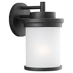 1-Light Forged Iron Outdoor Wall Lantern