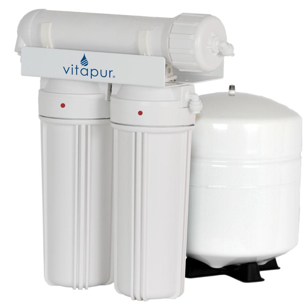 Système de traitement de l'eau à osmose inverse à 3 étapes Vitapur
