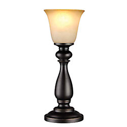 Hampton Bay 16-inch Oil-Rubbed Bronze Uplight Buffet Lamp