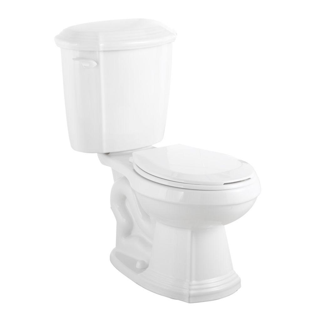 Foremost Regent 2-Piece 4.8 LPF Single Flush Round Bowl Toilet