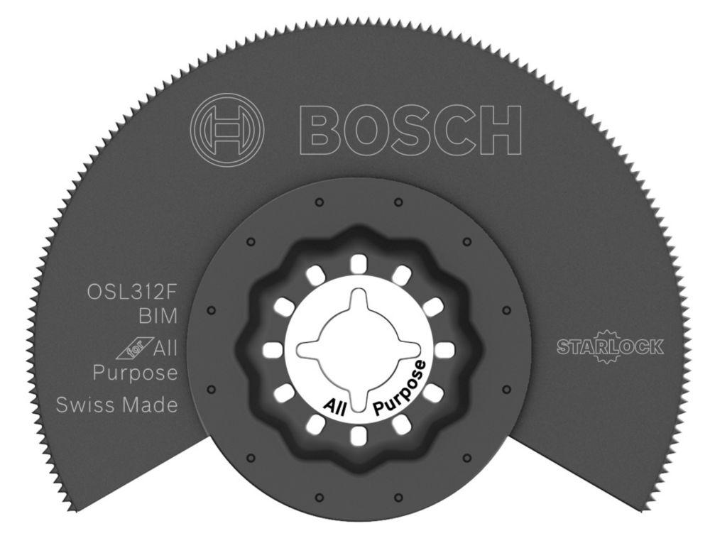 3-1/2 inch Starlock Oscillating Multi Tool Bi-Metal Flush Cut Blade