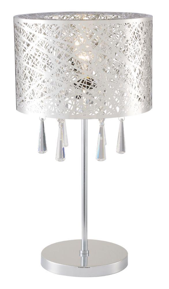 KYLA Chrome Table Lamp