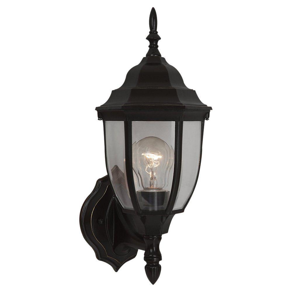 1-Light Heirloom Bronze Outdoor Wall Lantern