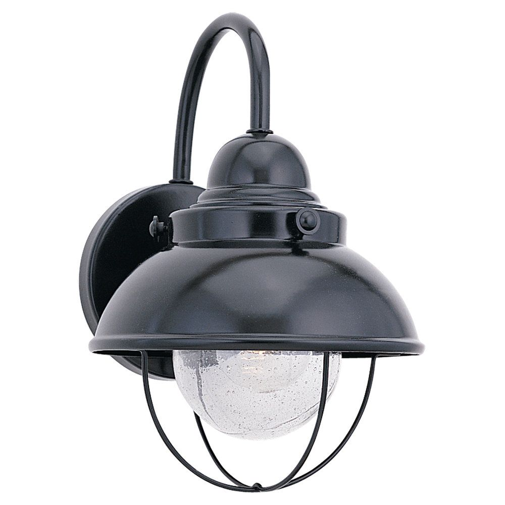 1 Light Black Incandescent Outdoor Wall Lantern 8871-12 in Canada