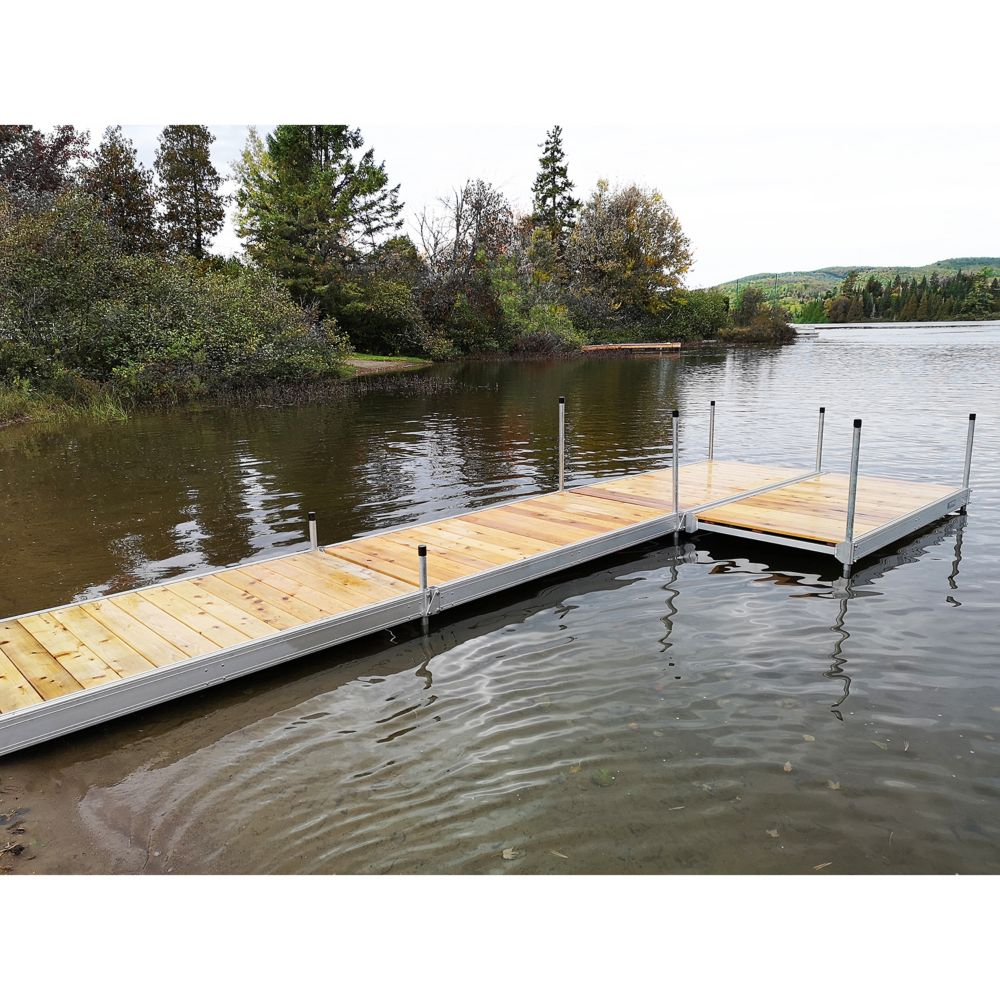 4 ft. x  8 ft. Aluminum Boxed Dock Frame Kit