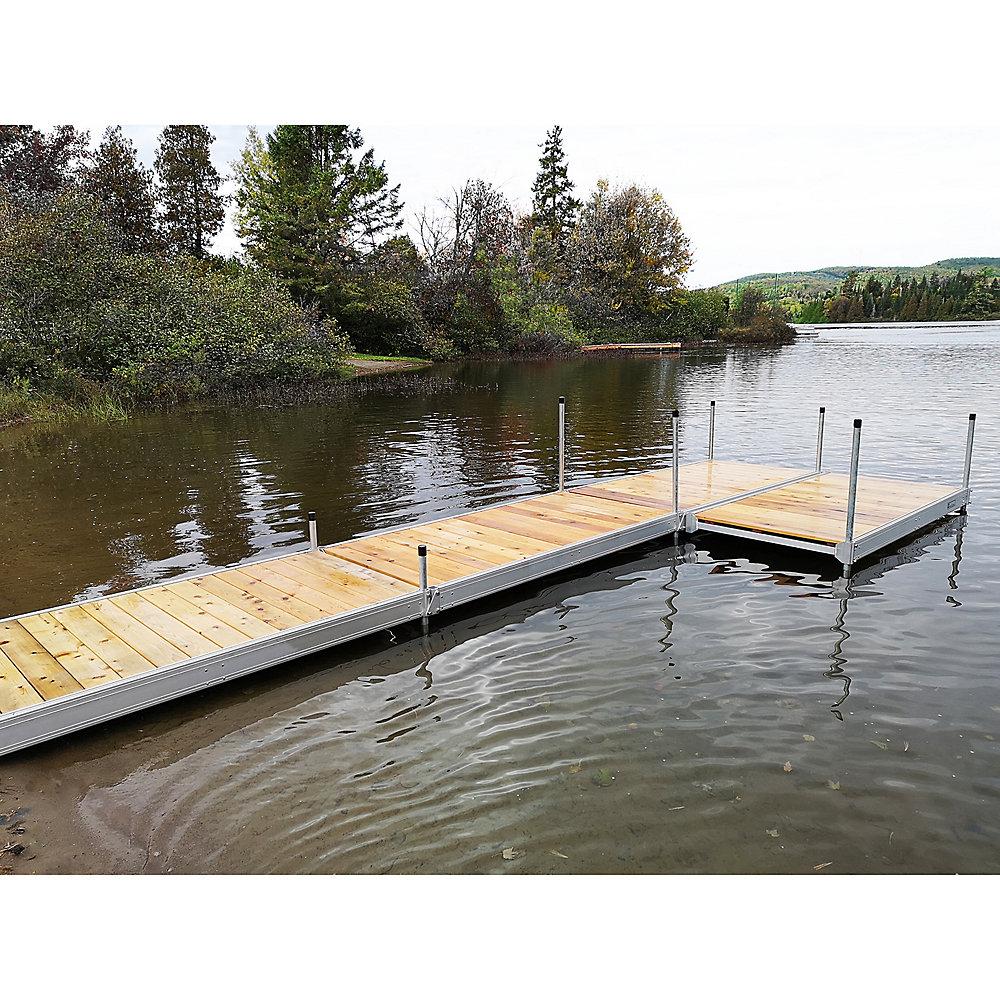 4 ft. x 8 ft. Aluminum Boxed Dock Frame Kit