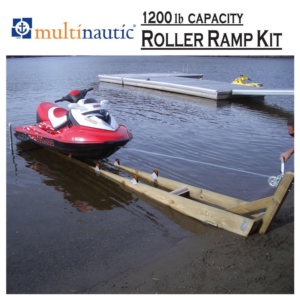 Multinautic 1,200 lbs. Capacity Ramp Kit for Small Watercraft