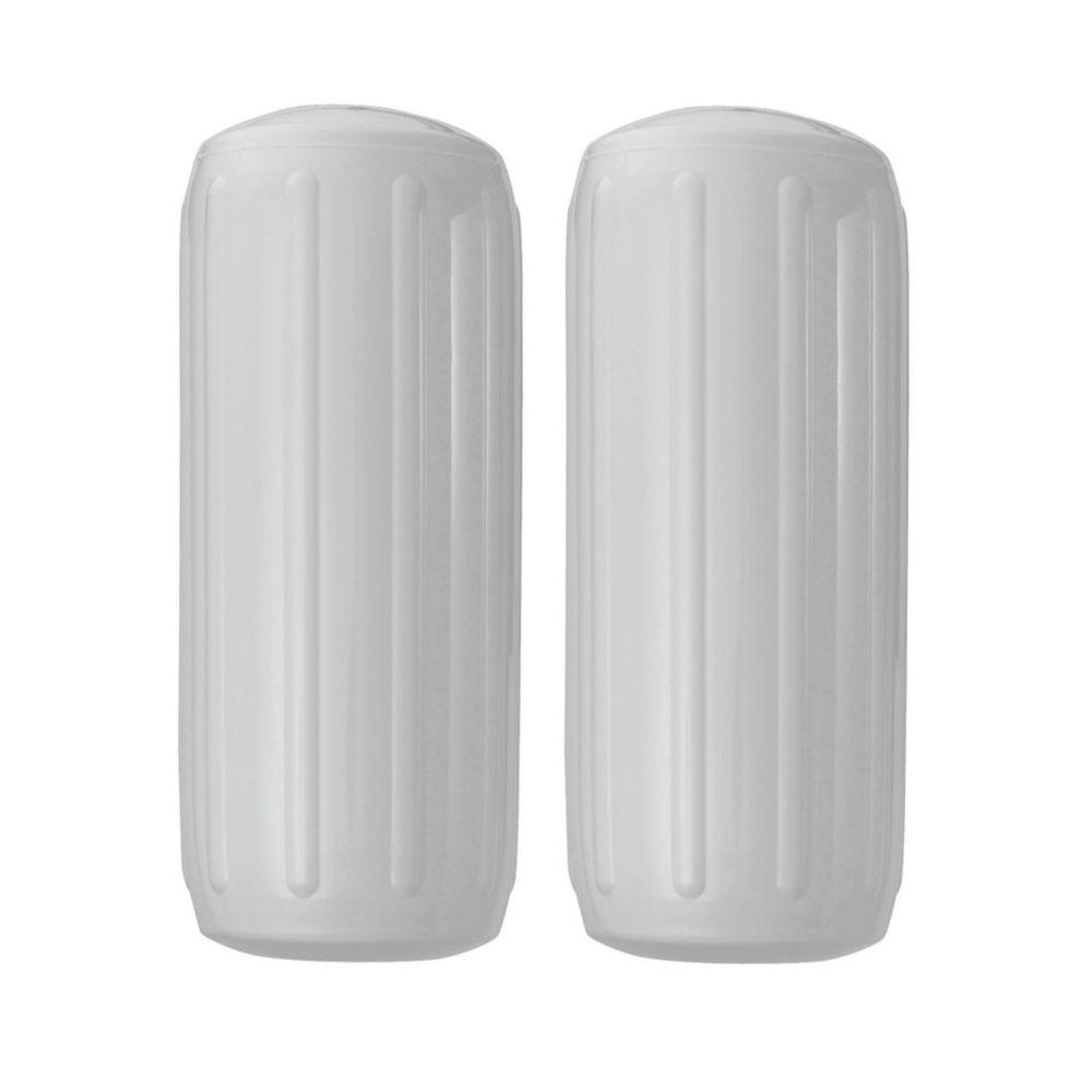 """Pare-battage à deux oeillets gonflable 8.5"""" x 20.5"""" de largeur."""