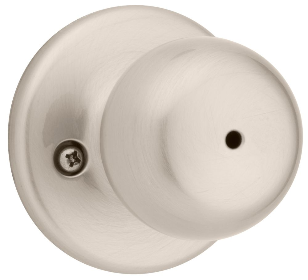 Weiser Fairfax Satin Nickel Privacy Knob