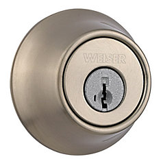 Elements Satin Nickel Deadbolt