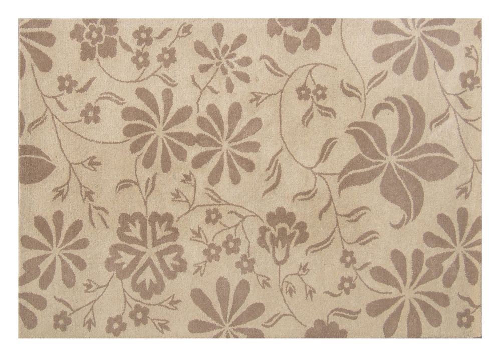 Eco Chic Beige Rug 5 Ft. x 8 Ft. Area Rug 15526 in Canada