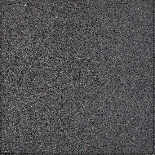 Envirotile Envirotile Flat Profile Grey - 24 Inch x 24 Inch