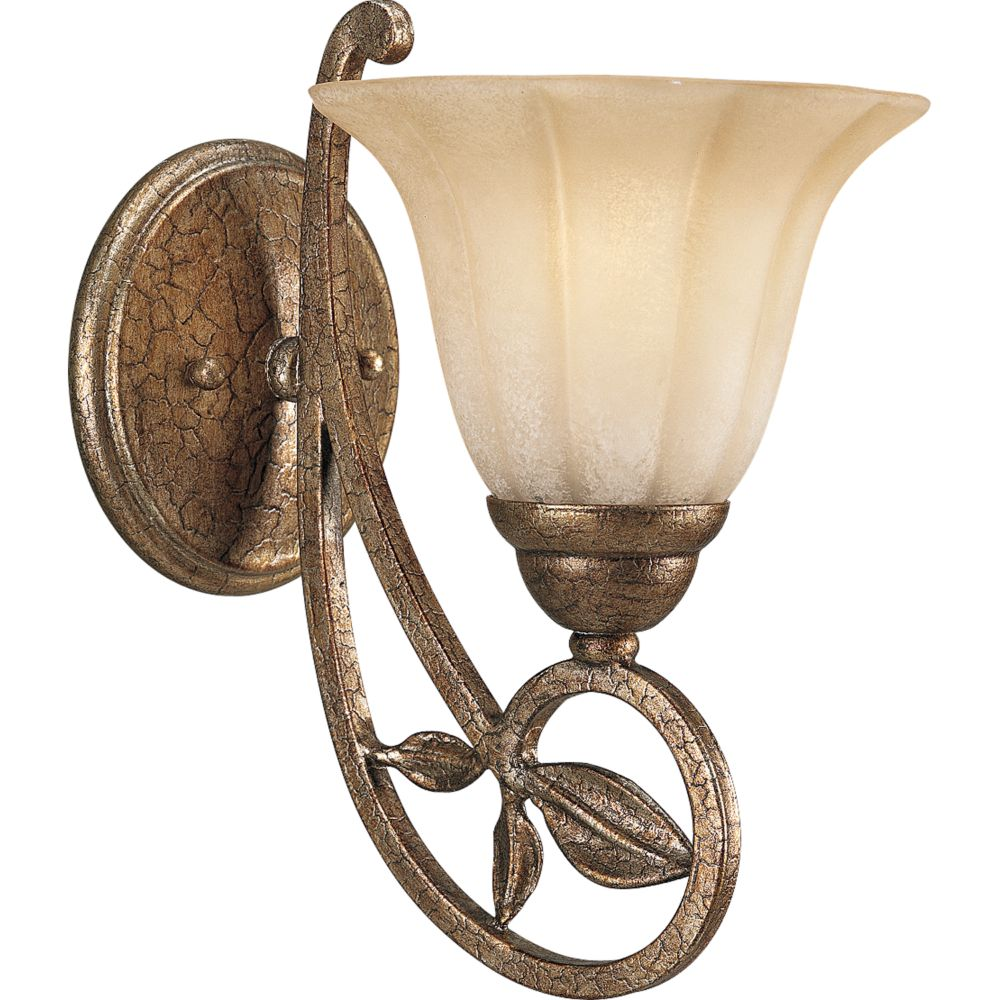 Le Jardin Collection Biscay Crackle 1-light Wall Bracket