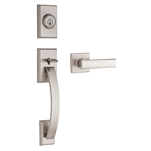 Tavaris/Vedani Satin Nickel Handle Set