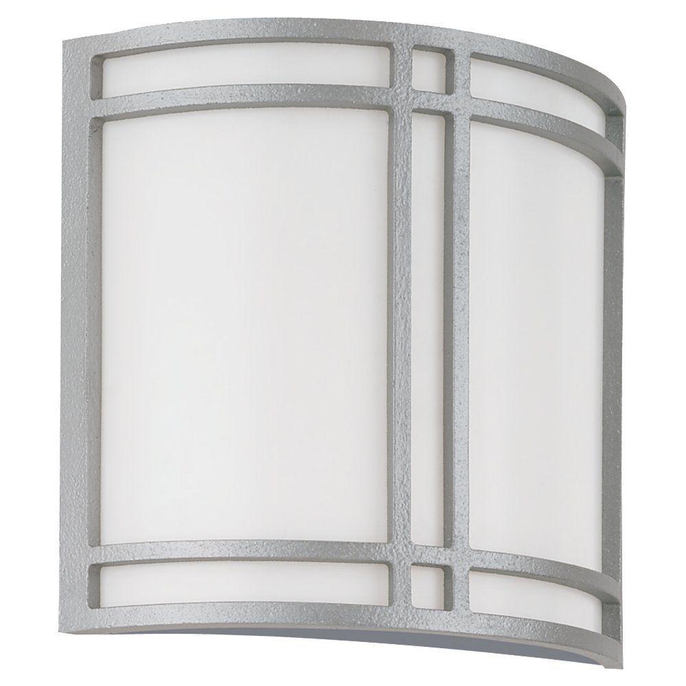 Lumière Seagull fixée au mur à deux ampoules avec abat-jour blanc, finition de spécialité