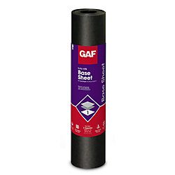 GAF Tri-Ply 3 ft. x 98 ft. (300 sq. ft.) #75 Base Sheet Membrane Roll For Low Slope Roofs