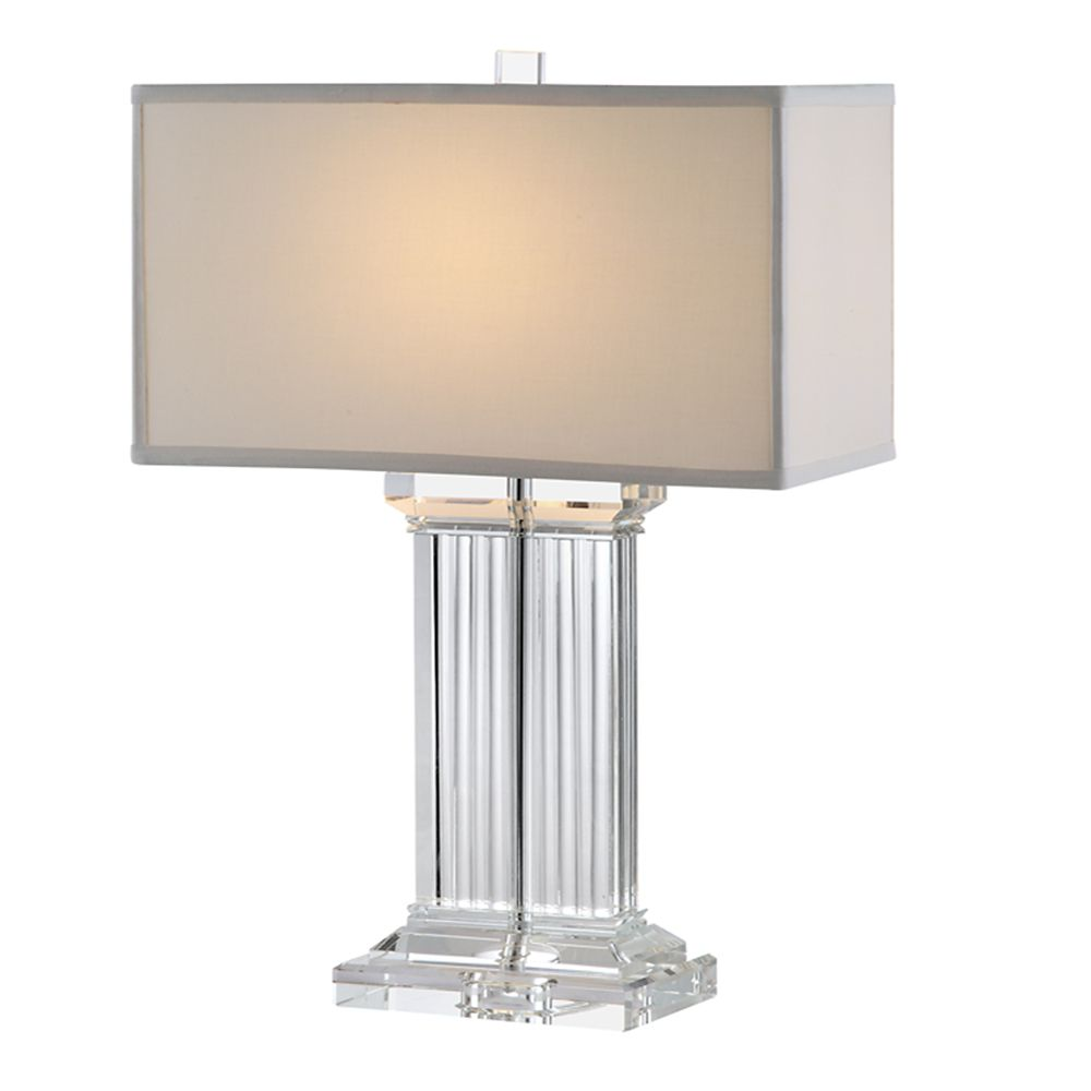 Elegant Crystal Table Lamp