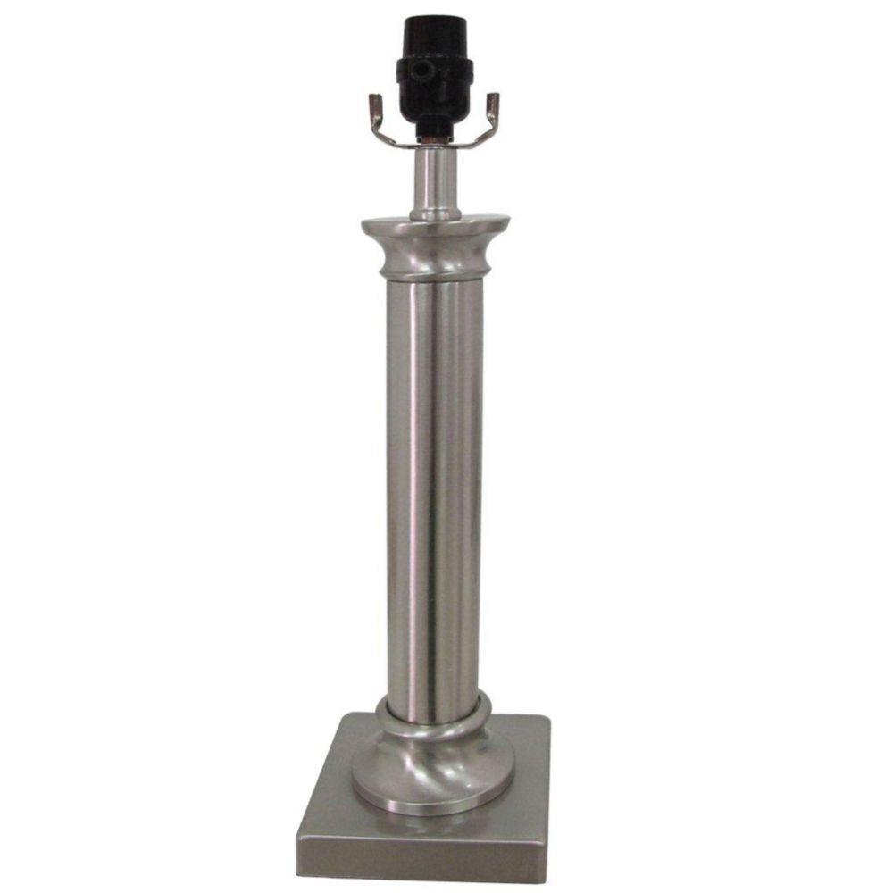 Lampe de table classique avec colonne