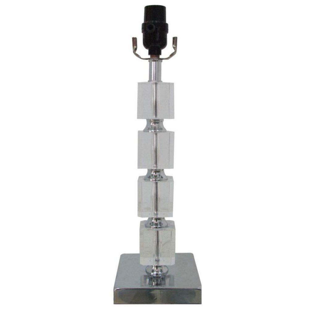 Stacked Block Table Lamp