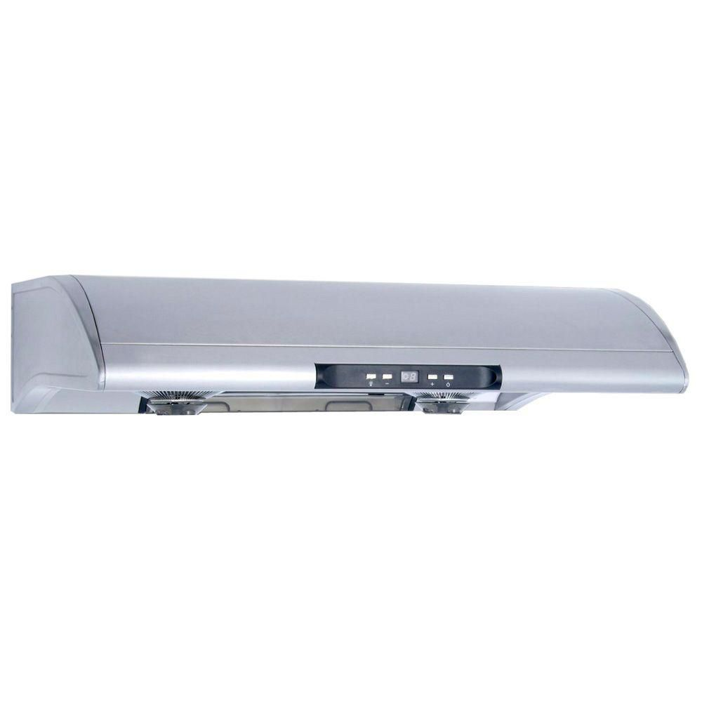 30-inch Dual Fan Under Cabinet Range Hood in Stainless Steel