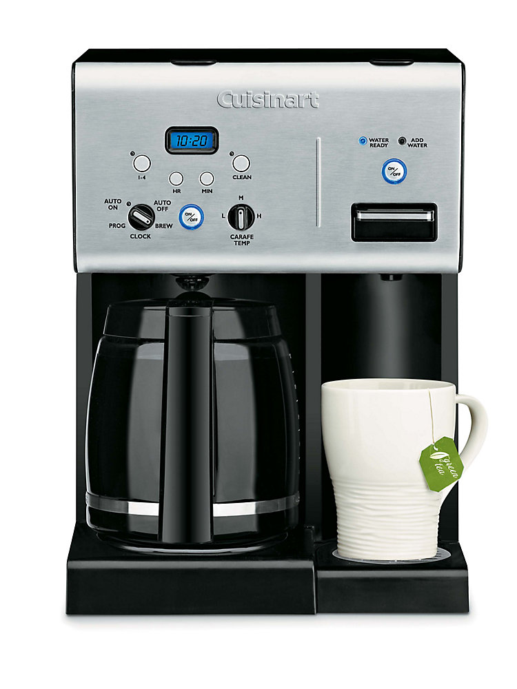Cuisinart Coffee PLUS 12 Cup Programmable Coffeemaker and Hot Water System
