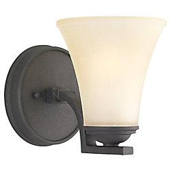 Sea Gull Lighting 1-Light Blacksmith Sconce
