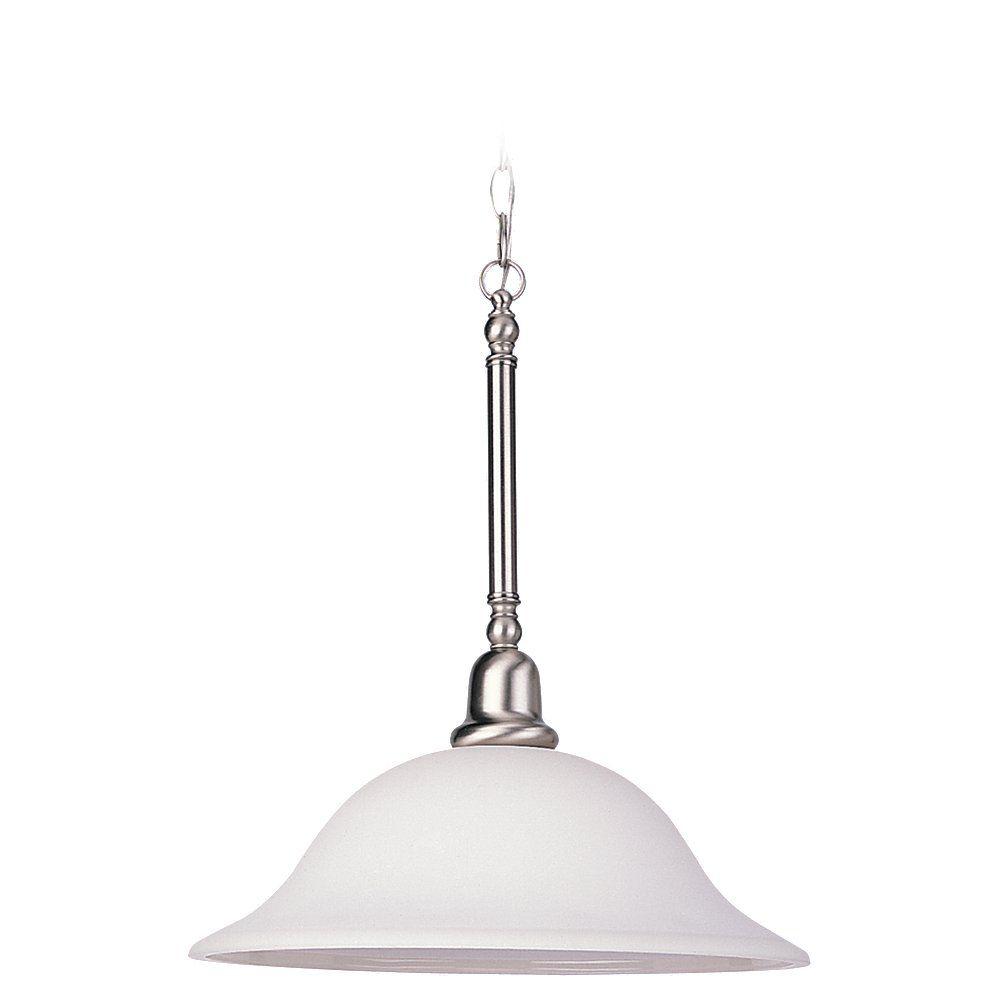 Lustre Seagull à trois ampoules avec abat-jour de spécialité, finition de spécialité
