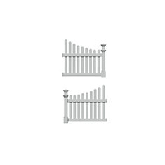 Vinyl Fence Panels The Home Depot Canada